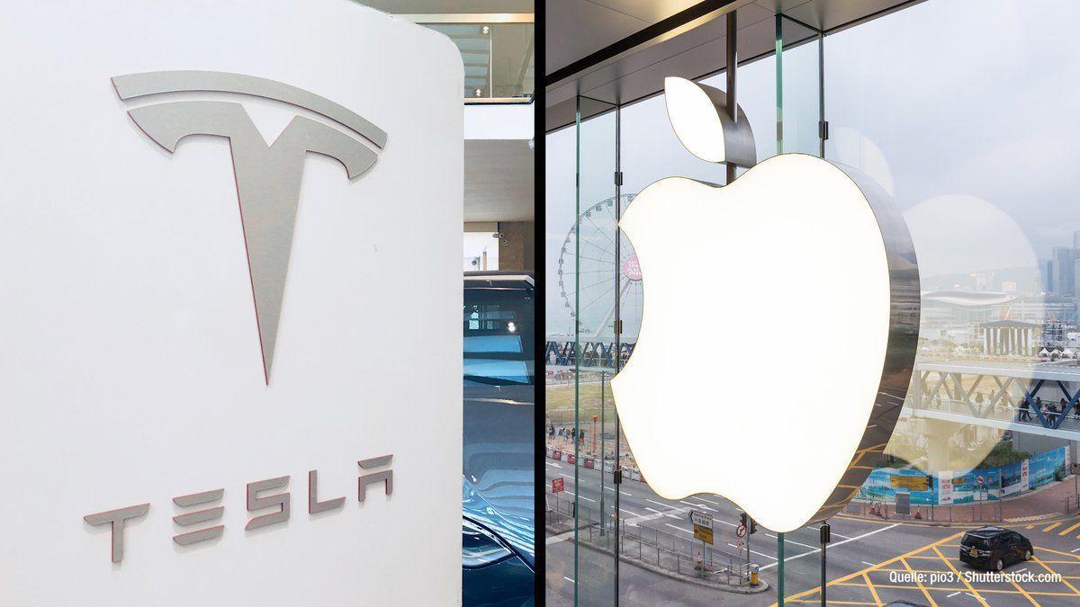 """Tesla-Konkurrenz Nummer 1: Apple mit dem """"iCar"""" vorne?"""