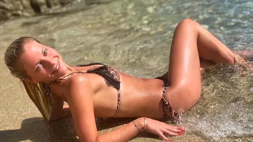 Heiße Bikini-Show von Valentina Pahde: Sie zeigt sich freizügig