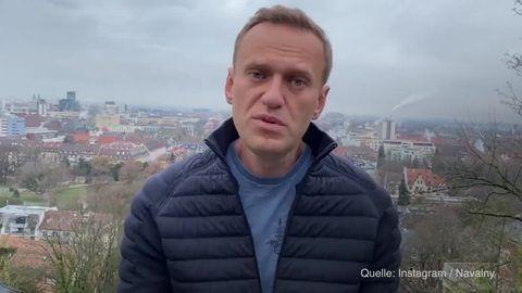 Nawalny - Freilassung gefordert: Proteste in 70 russischen Städten