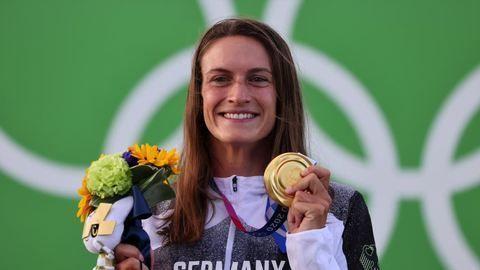 Kanutin Ricarda Funk aus Augsburg gewinnt Gold bei Olympia