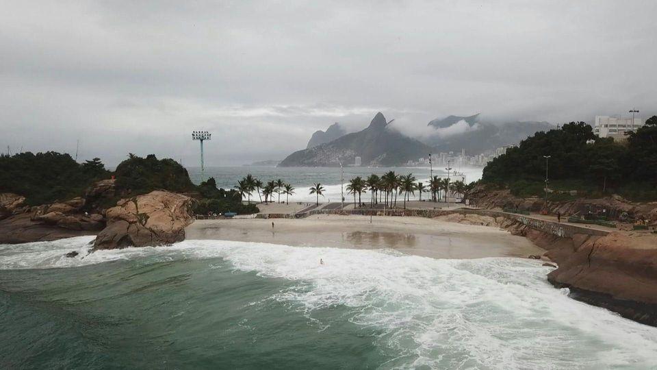 Coronavirus-Pandemie: Die Welt steht still in Rio de Janeiro