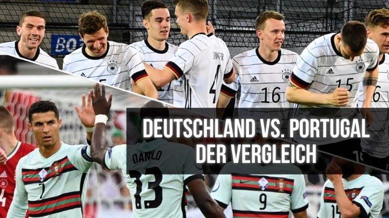 Deutschland vs. Portugal – der Teamvergleic