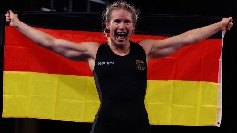 Historisch! Ringerin Rotter-Focken holt Olympia-Gold