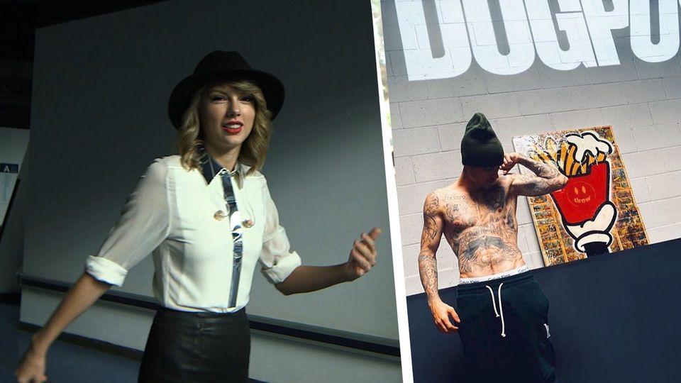 Aus diesem Grund ließ Taylor Swift Justin Bieber aus dem Gym werfen