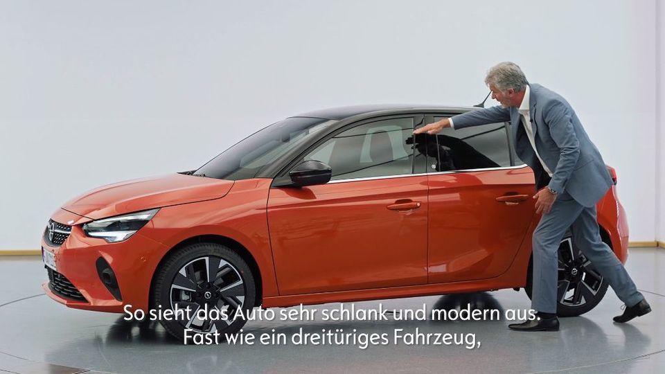 Opel Corsa-e Design walk around Mark Adams