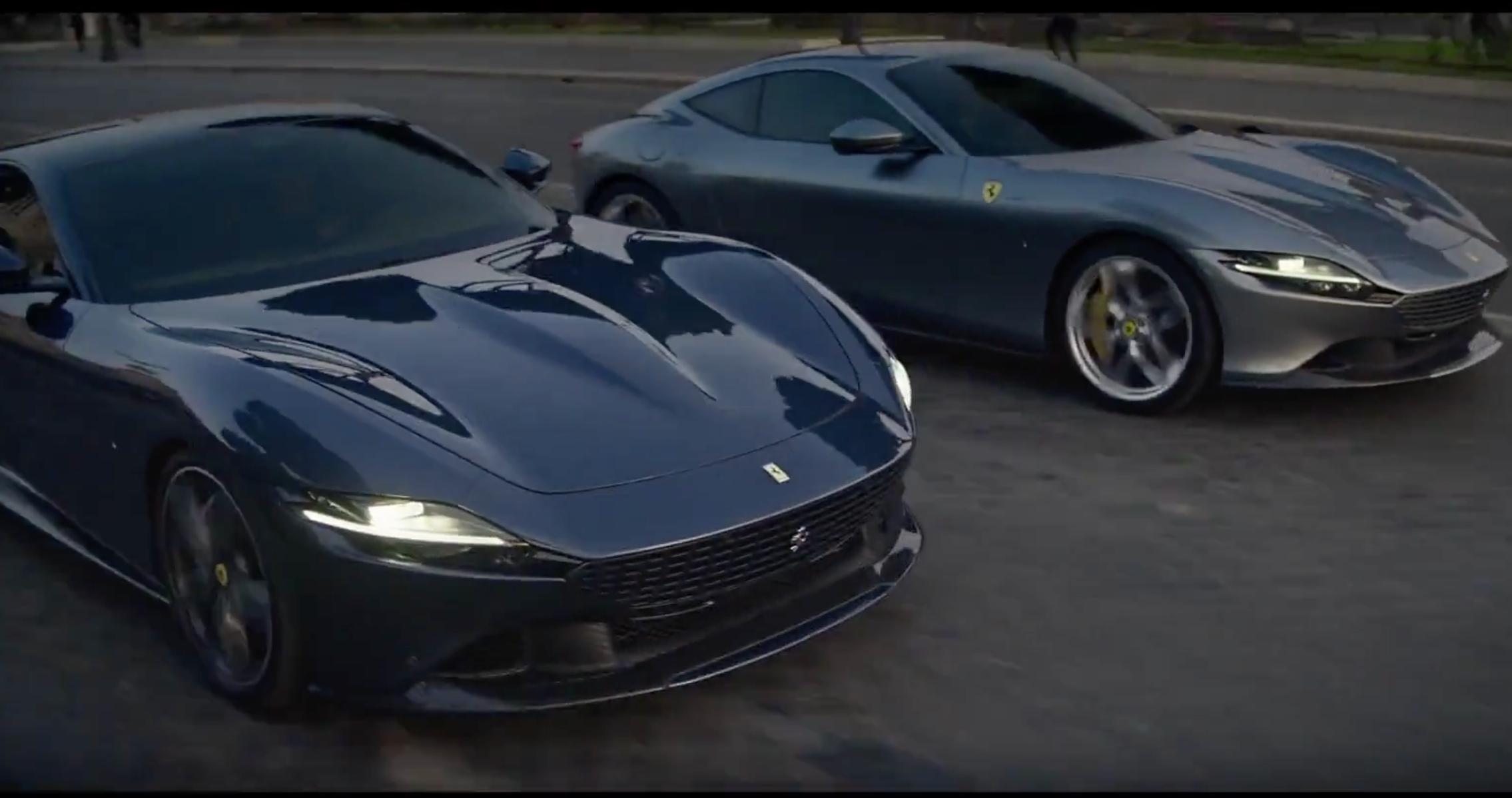 Der neue Ferrari Roma Highlights