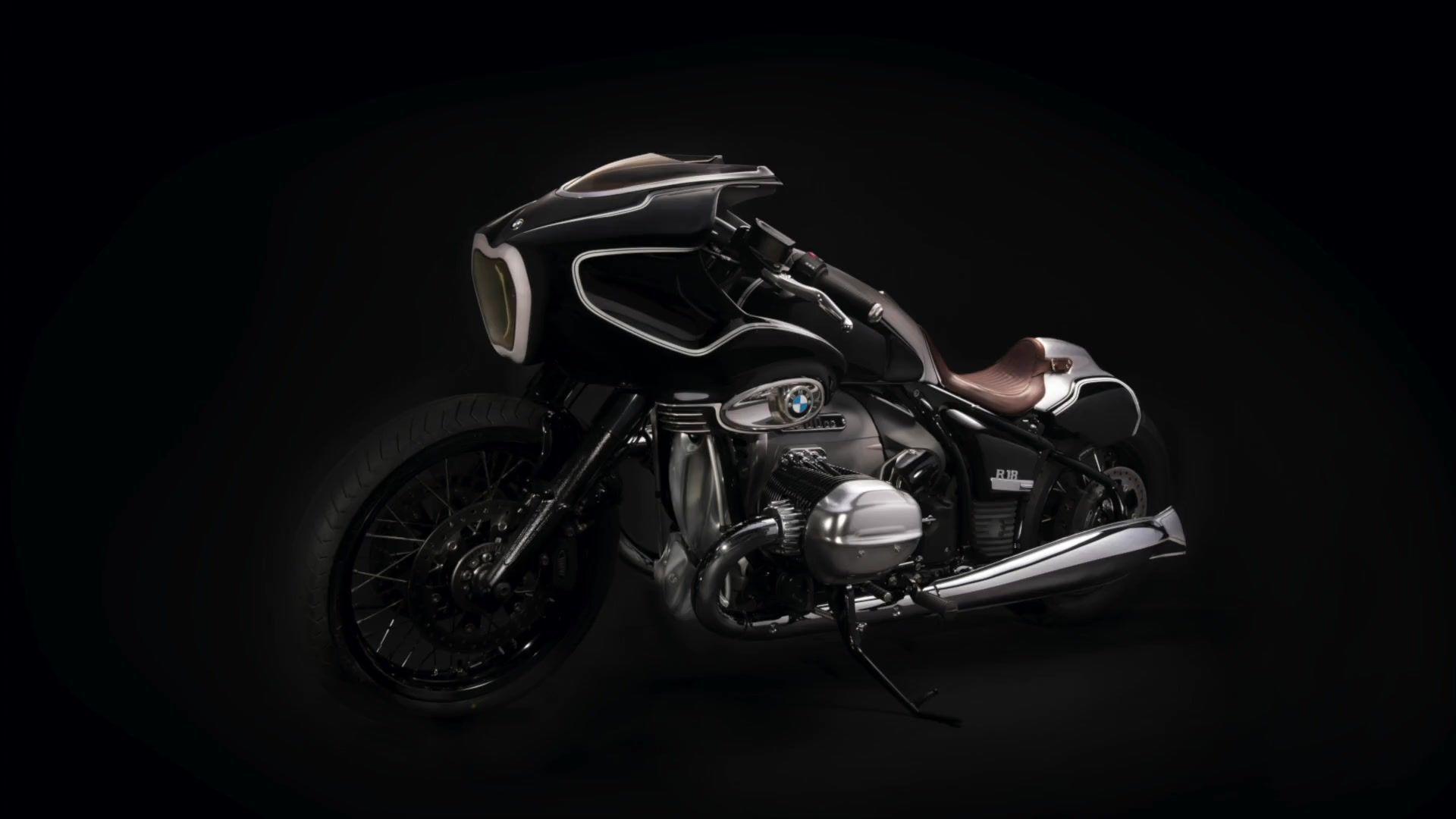 BMW Motorrad präsentiert neues Custom Bike – Die Blechmann R 18