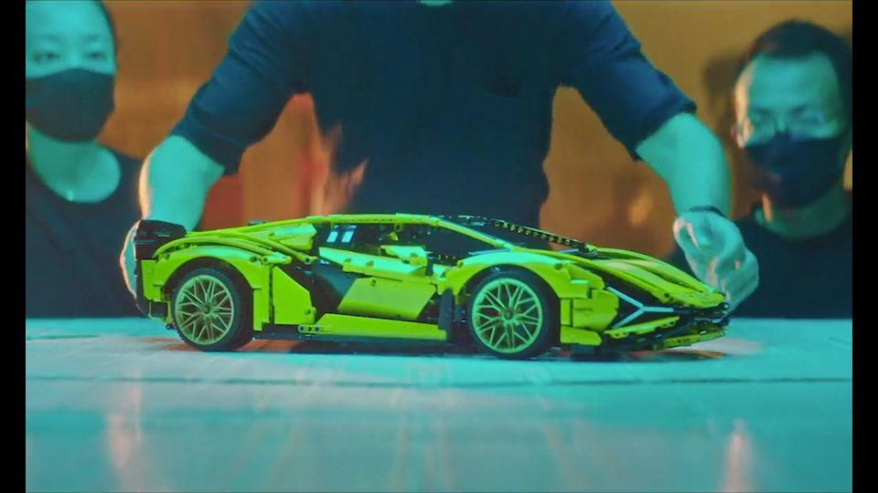 Automobili Lamborghini und LEGO bauen den Lamborghini Sián FKP 37