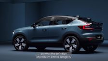 The new Volvo C40 Recharge Pure Electric - Leather-free interior