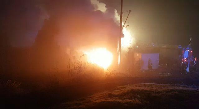Brand in Eschenlohener Bahnwärterhäuschen