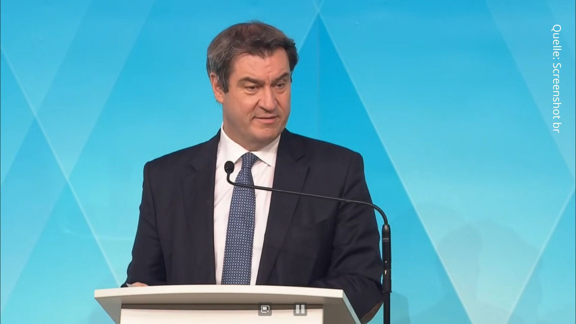 Coronavirus: Ministerpräsident Söder bestätigt Kurs der Bundesregierung