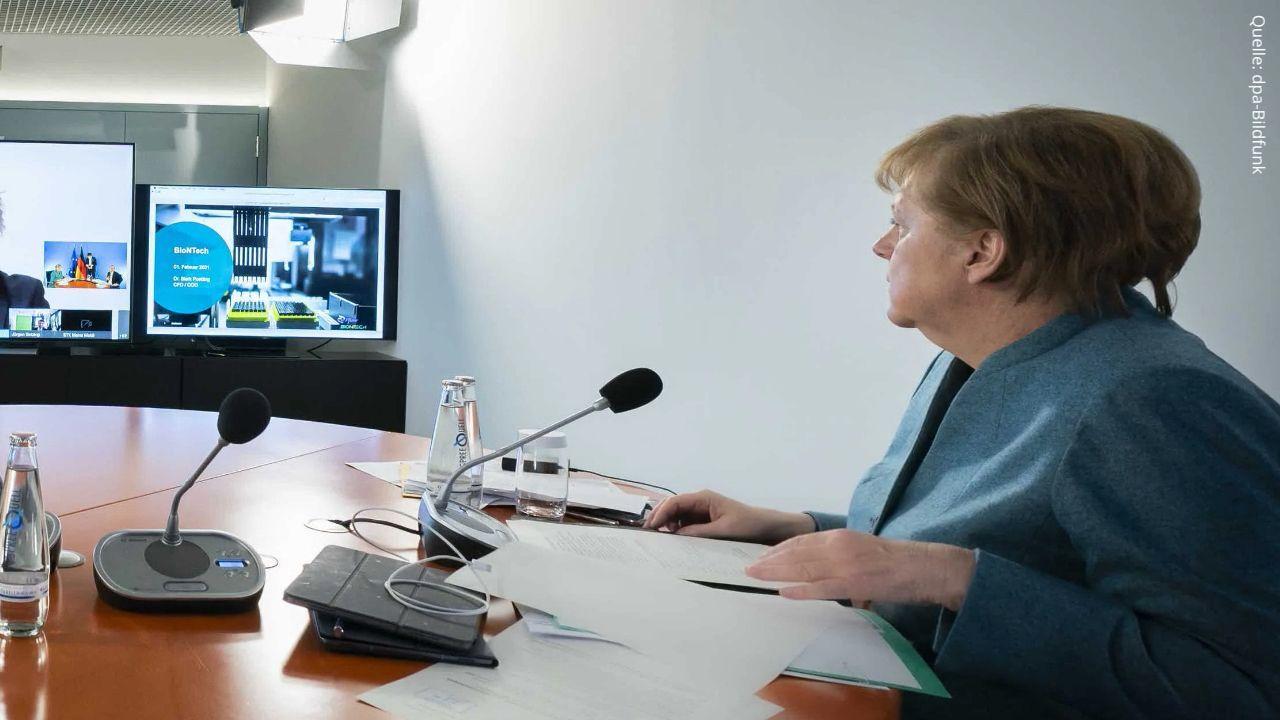Bayern-Gipfel mit Merkel und Söder: Landräte wollen Lockerungen