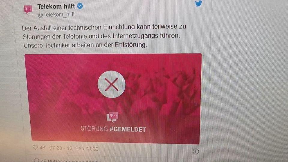 Bundesweite Telekom Störung und Ausfälle von Internet und Telefon!