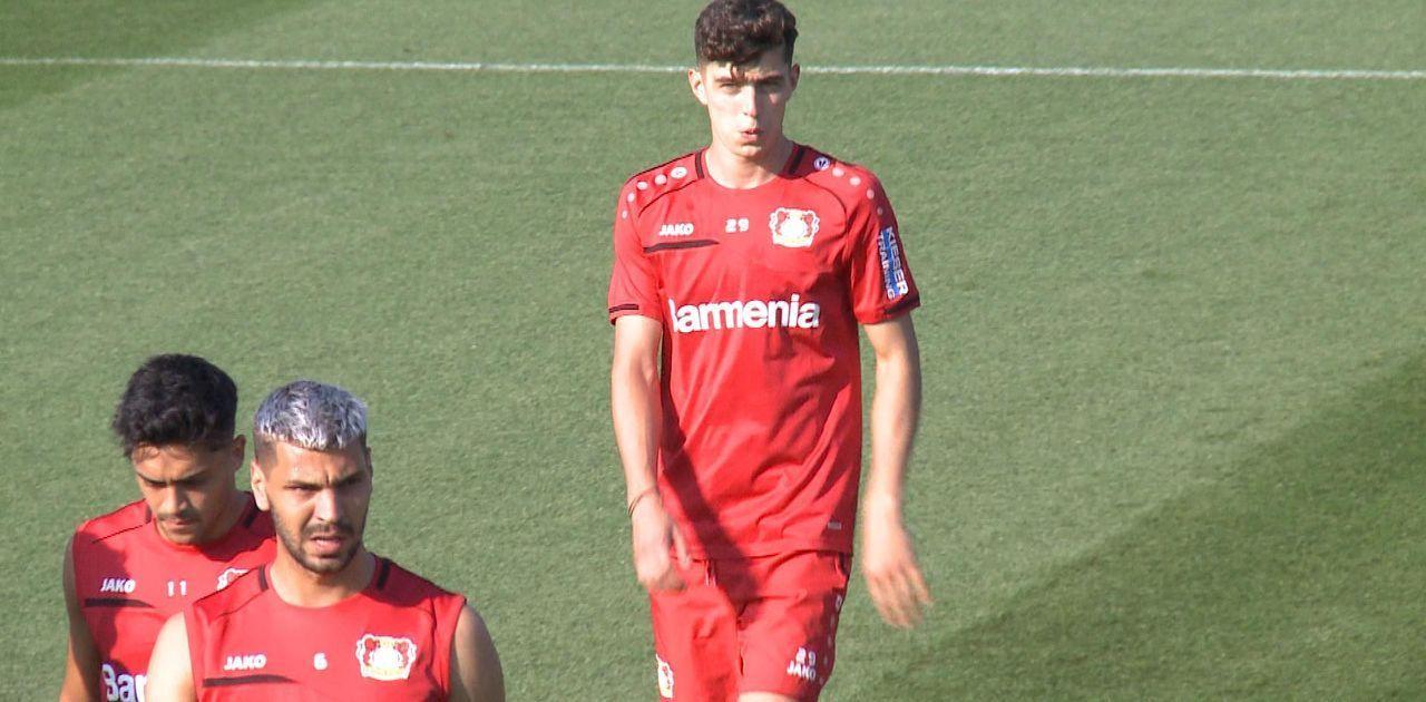 Newsflash: Bayer Leverkusen bangt vor Pokalspiel gegen Paderborn um Kai Havertz