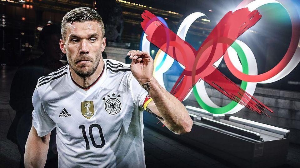 Lukas Podolski - Traum von Olympia in Tokio geplatzt