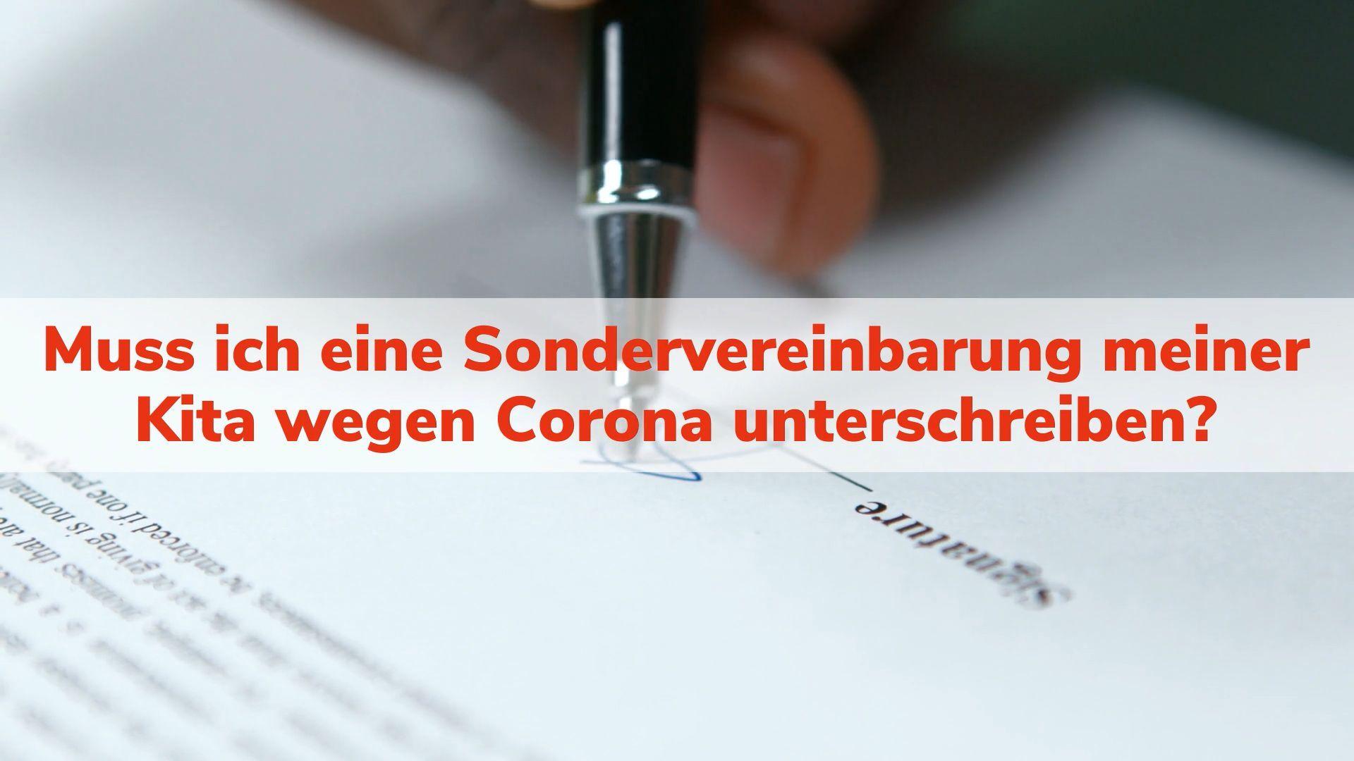 Kita-Gebühren trotz Corona: Kitas wollen Sondervereinbarung – ist das erlaubt?