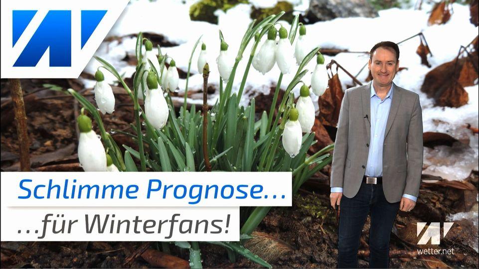 Schlimme Wetterprognose für alle Winterfans!
