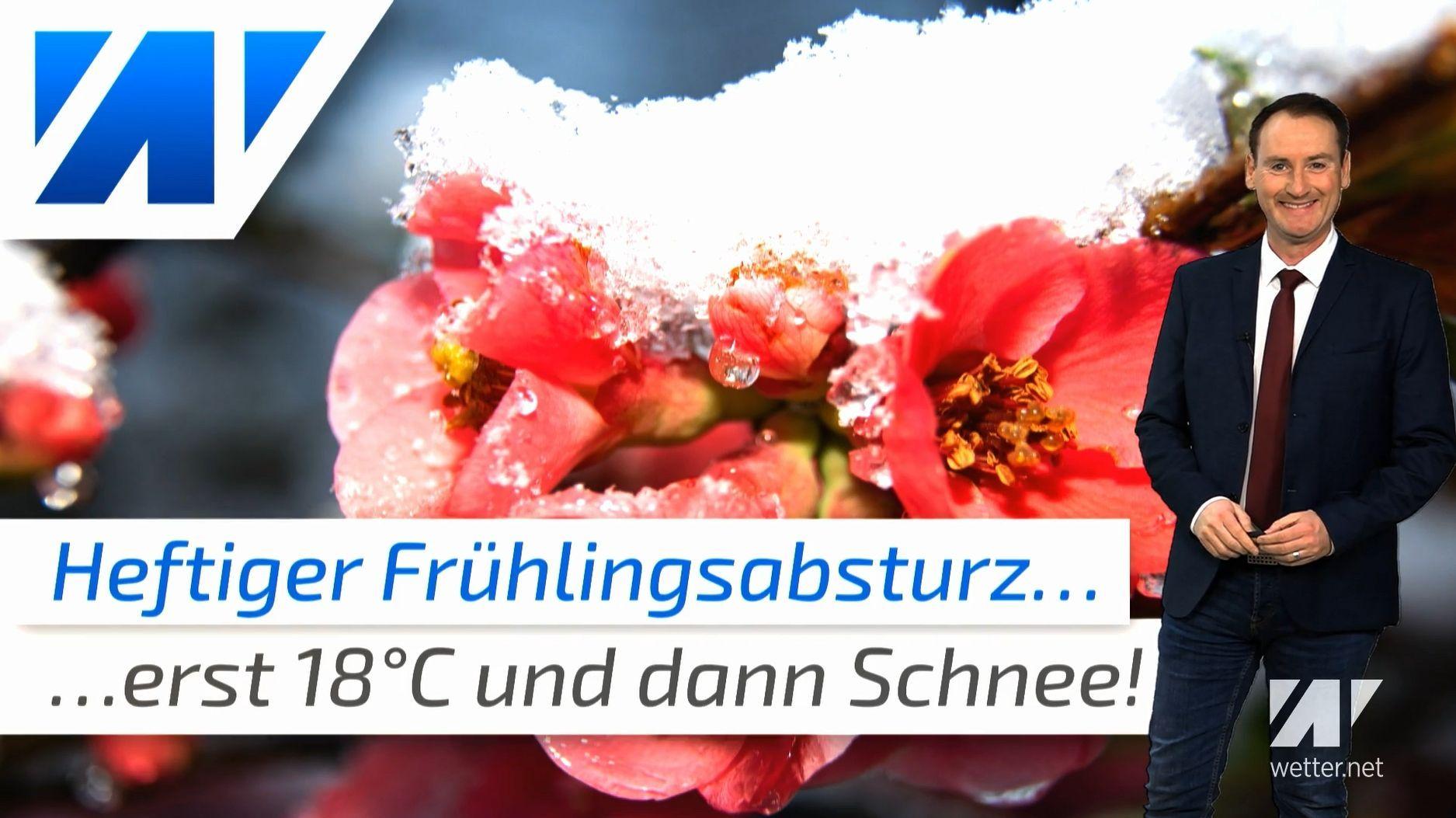 Ab Sonntag schlägt die Frostkeule zu! Der Frühling wird auf Eis gelegt!