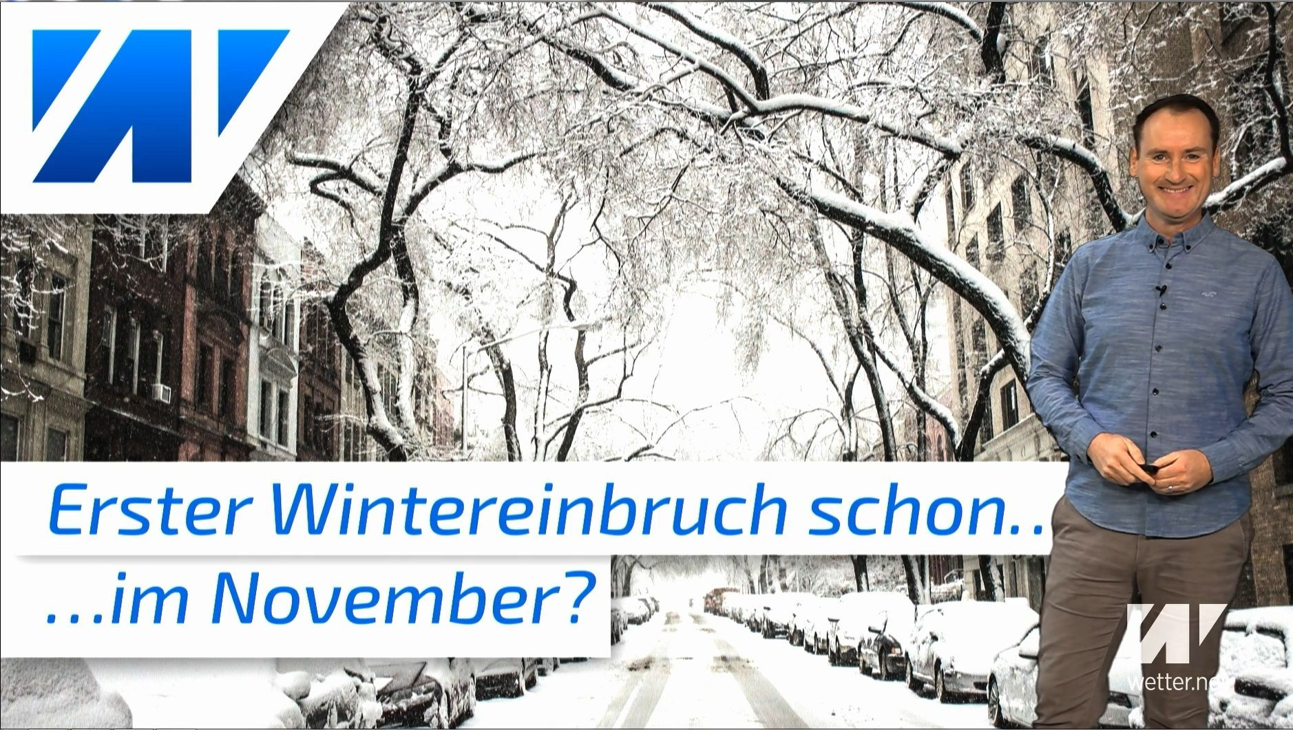 Wann gibt´s den ersten Schnee bis ins Flachland? Startet der Winter früh?