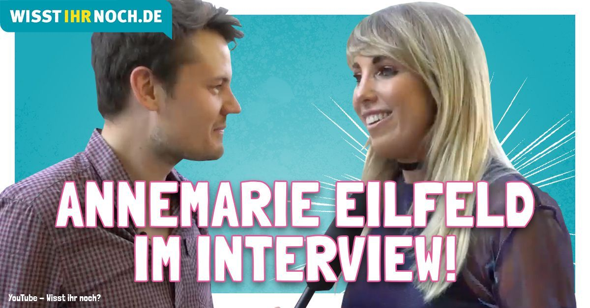 Annemarie Eilfeld im Interview!