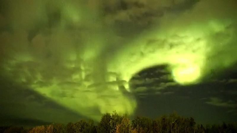 Das WOW-Video: Nordlichter über Manitoba