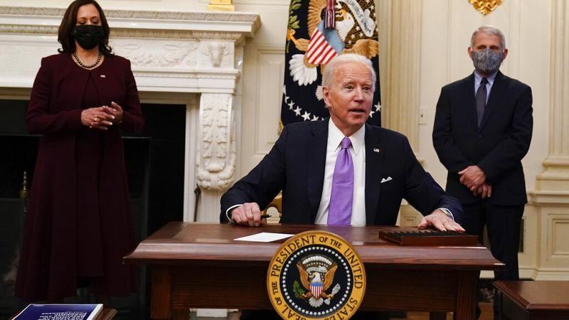 Joe Biden wirbt leidenschaftlich für billionenschweres Konjunkturpaket