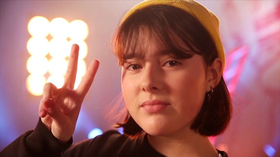 THE VOICE kids Bonus: Hip-Hop-Stunde mit Evelyne