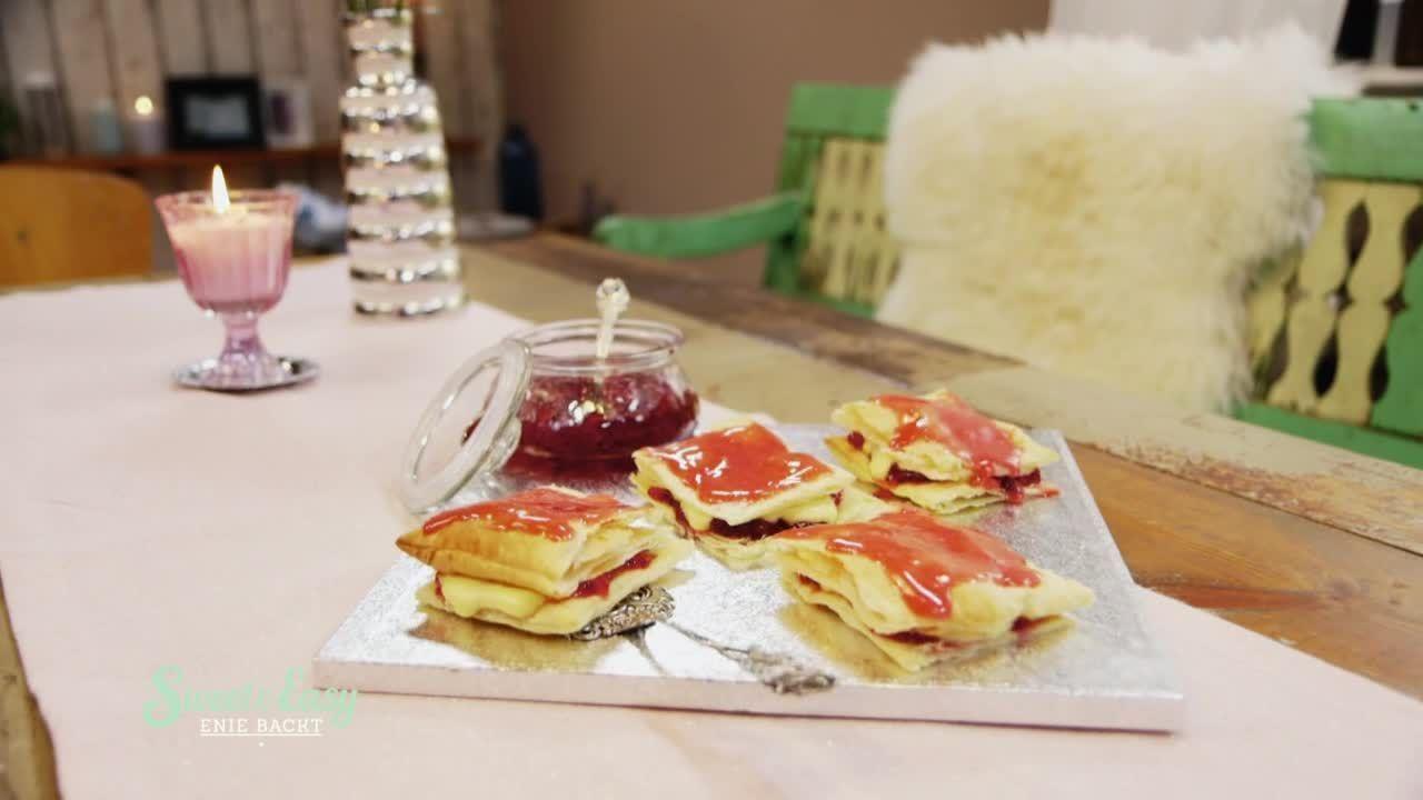 Russische Kuchen! Napoleon mit Vanillecreme