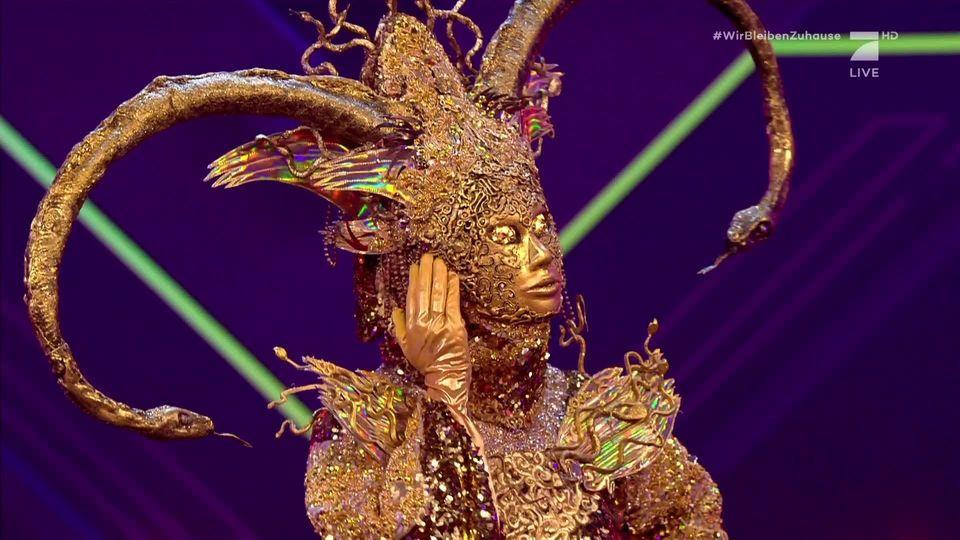 The Masked Singer - Rebecca Immanuel ist die Göttin