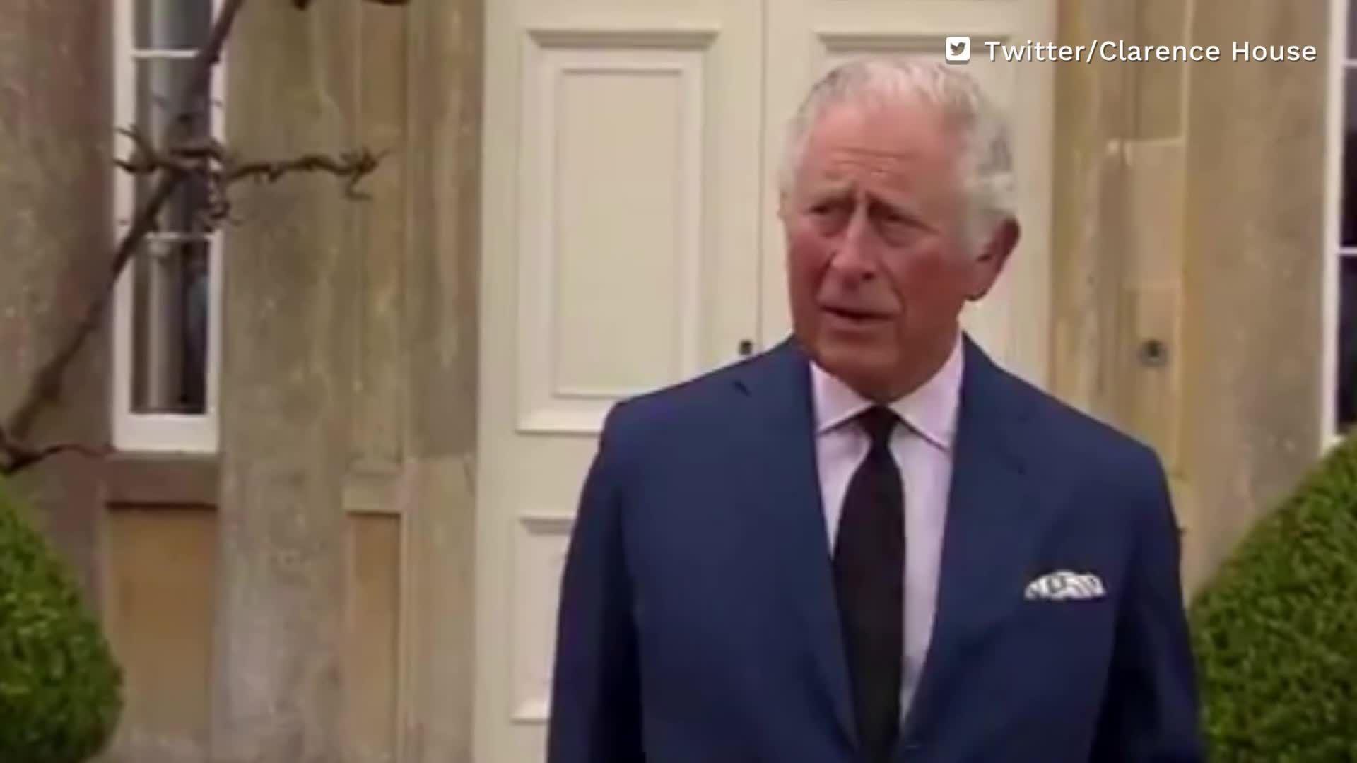 Nach dem Tod von Prinz Philip: So rührend verabschiedet sich Prinz Charles von seinem Vater