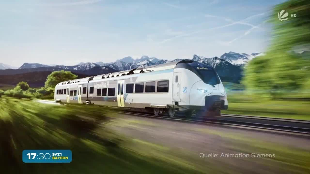 Wasserstoff-Züge in Bayern? Probebetrieb ab 2023