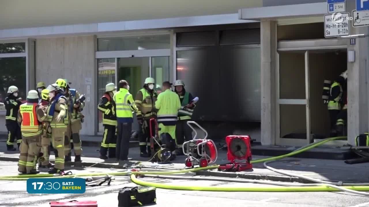Explosion in Garching: Fünf Menschen verletzt