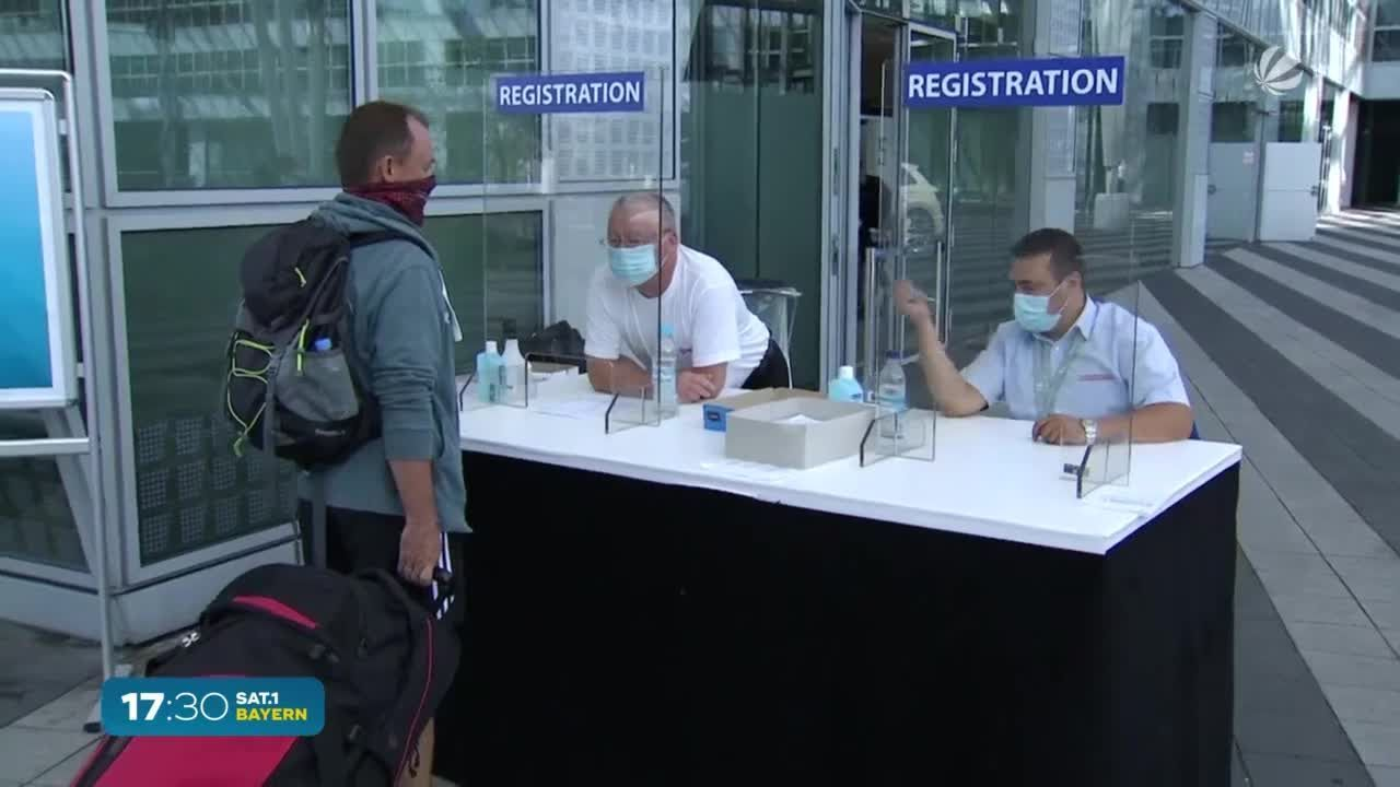 Testpflicht für Reiserückkehrer: Urlaubs-Infos für Bayern