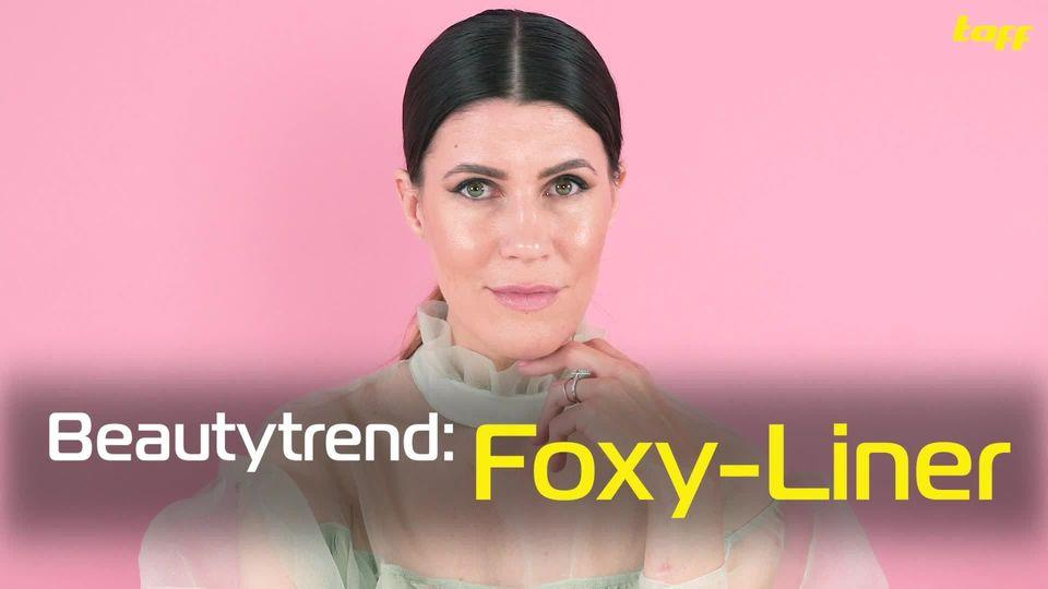 Beautytrend: Foxy Eyeliner