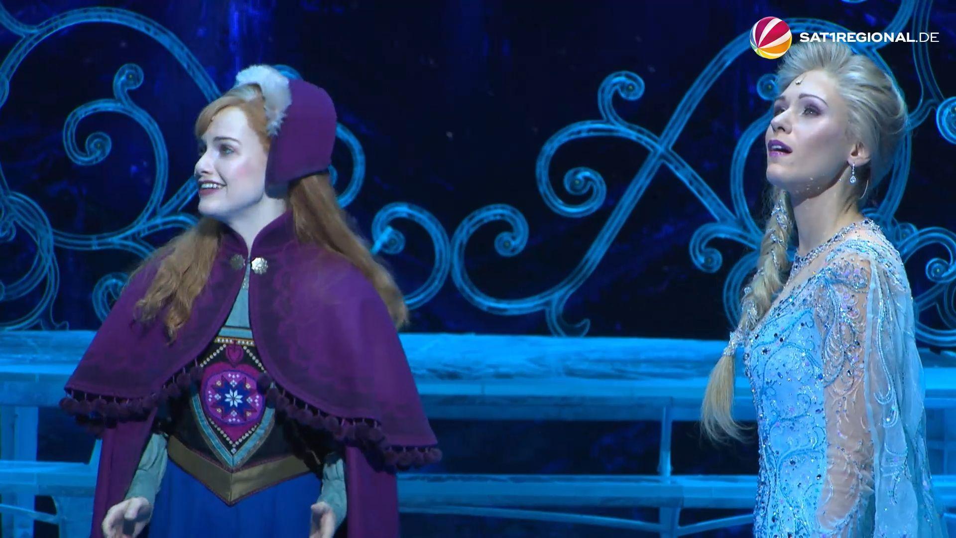 """""""Die Eiskönigin"""": Musical-Premiere von Disneys Frozen in Hamburg"""