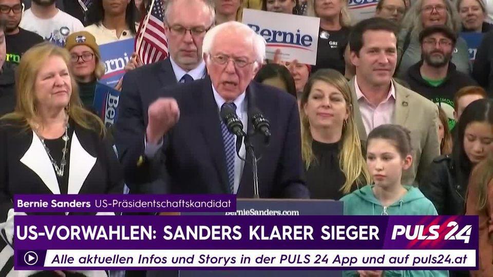 US-Vorwahlen: Bernie Sanders klarer Sieger