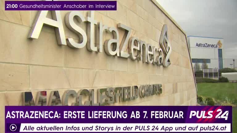 AstraZeneca: Erste Lieferung ab 7. Februar